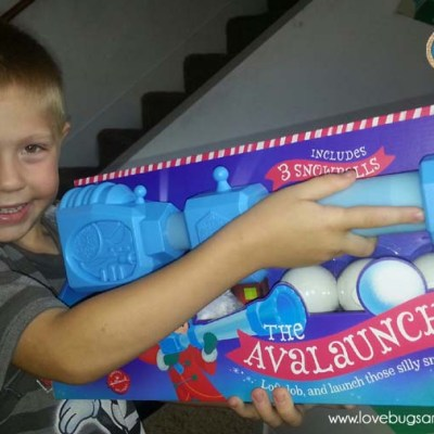 Hallmark Northpole Gifts –  Avalauncher and the Magic Snowball