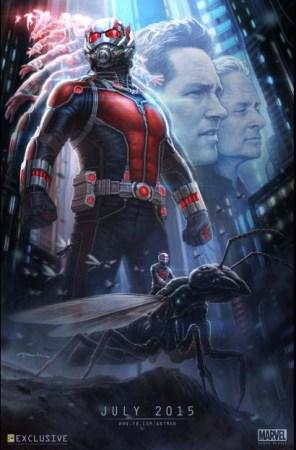 Marvel ANT-MAN Trailer + New Poster!