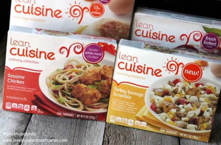 Lean Cuisine for a busy mom