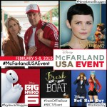 Heading to LA to interview Kevin Costner, Ginnifer Goodwin and many others! #McFarlandUSAEvent