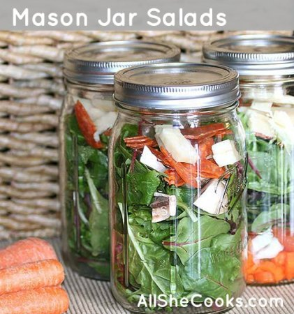 Store lettuce in a glass jar to keep it crisp and fresh