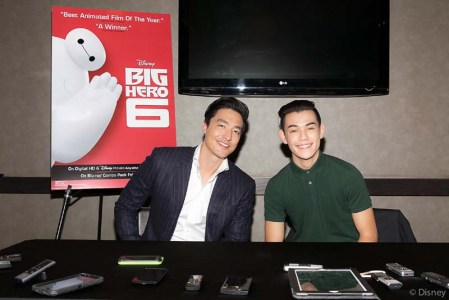 Interview with Ryan Potter (Hiro) and Daniel Henney (Tadashi) for Big Hero 6