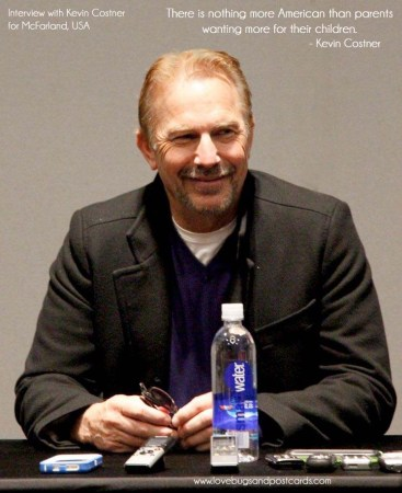 Interview with Kevin Costner