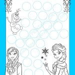 FROZEN Potty Chart {Free Printable}