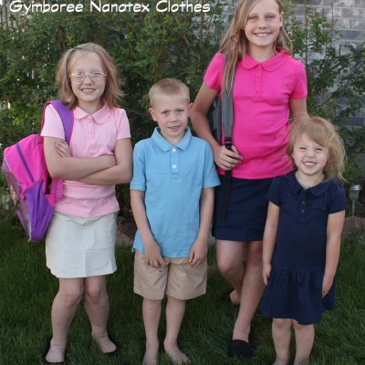 Gymboree Nanotex Clothes #ExpectationsExceeded