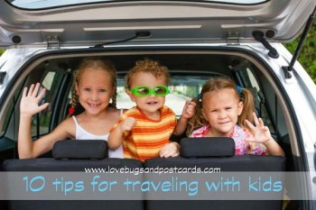 10 tips for traveling with kids