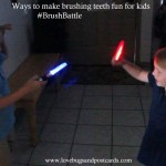 Ways to make brushing teeth fun for kids #BrushBattle