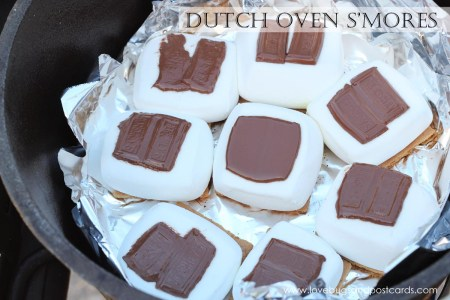 Dutch Oven S'mores