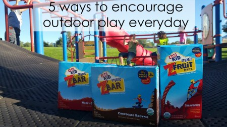 5 ways to encourage outdoor play everyday
