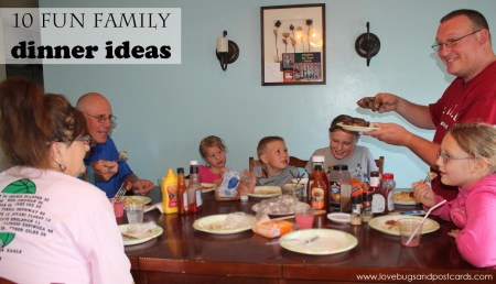 10 fun family dinner ideas