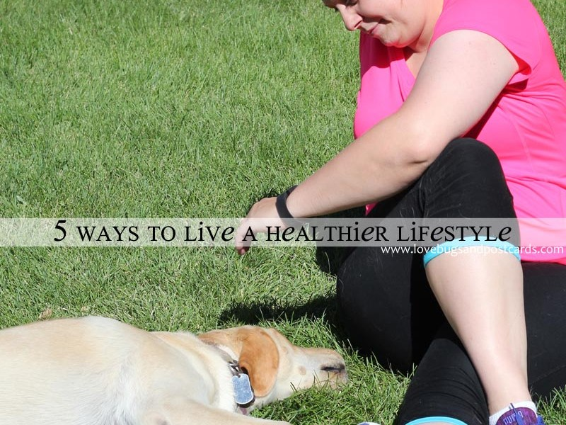 5 ways to live a healthier lifestyle