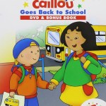 Go Back to School with PBS Kids {Caillou and Daniel Tiger's Neighborhood}