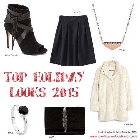Top Holiday Looks with Marie Claire