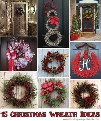 15 Christmas Wreath Ideas