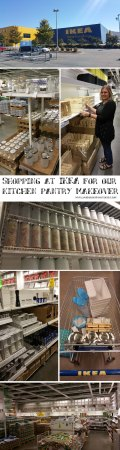 Kitchen Pantry Organization and make-over