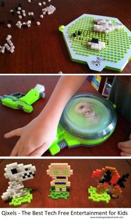 Qixels - The Best Tech Free Entertainment for Kids