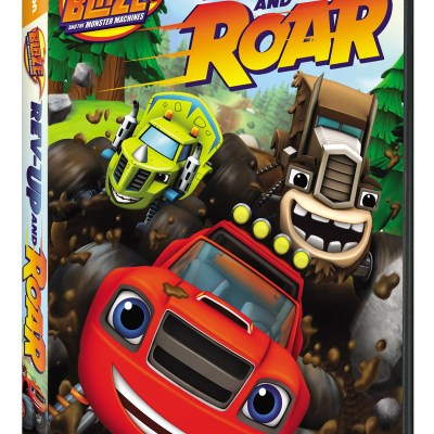Blaze and the Monster Machines: Rev Up and Roar! on DVD