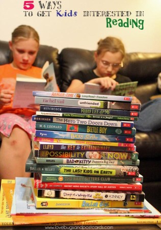 10 ways to get your kids interested in reading