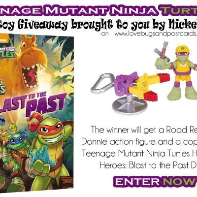 Teenage Mutant Ninja Turtles Half-Shell Heroes: Blast to the Past {Giveaway}