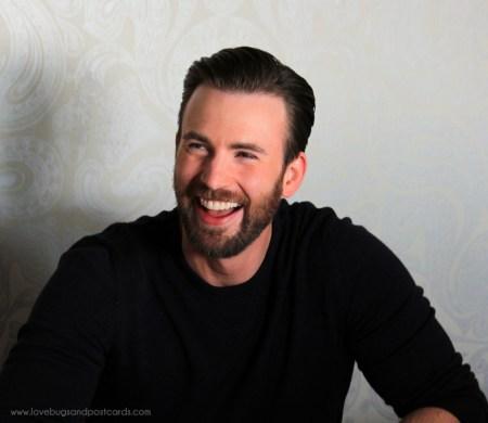 Exclusive interview with Chris Evans about #CaptainAmericaCivilWar #CaptainAmericaEvent #TeamCap