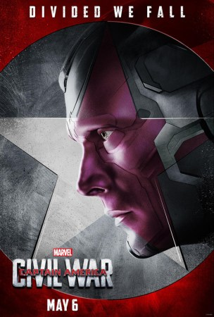 Captain America: Civil War - Paul Bettany as Vision