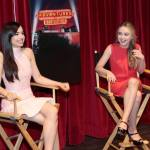 ADVENTURES IN BABYSITTING - Press Day. (Disney Channel/Rick Rowell) SOFIA CARSON, SABRINA CARPENTER