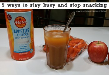 5 ways to stay busy and stop snacking