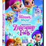 Nickelodeon's Shimmer and Shine: Welcome to Zahramay Falls on DVD