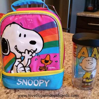 Going back to school with Peanuts (Giveaway)