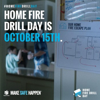 Home Fire Drill Checklist {Make sure you are prepared}