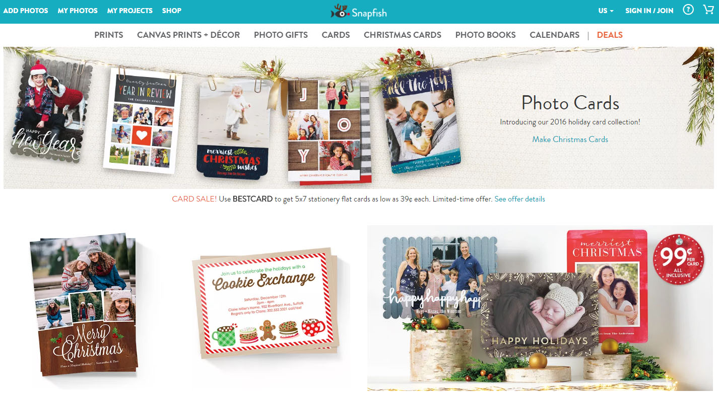 Snapfish holiday photo cards are the perfect way to stay in touch + ...