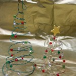 DIY Wire Christmas Tree Craft