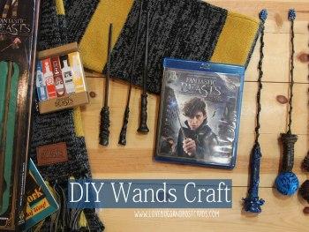 DIY Wands Craft