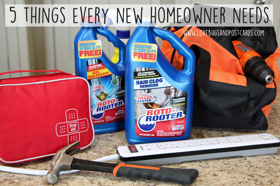5 things every new homeowner needs