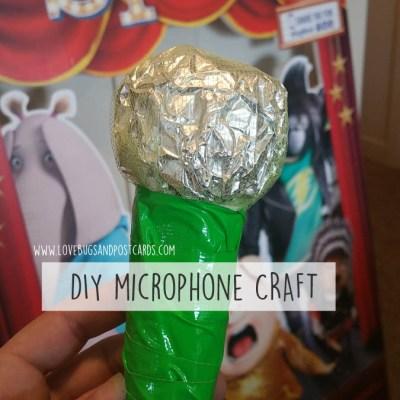 SING Movie Night Party Ideas (DIY Microphone Craft, snacks)