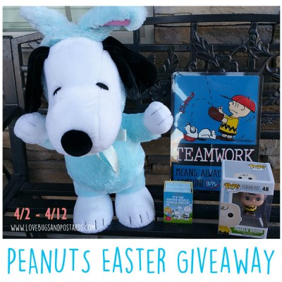 PEANUTS Easter Basket Stuffers + giveaway!