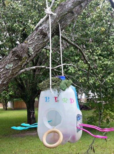 How To Make Milk Jug Bird Houses