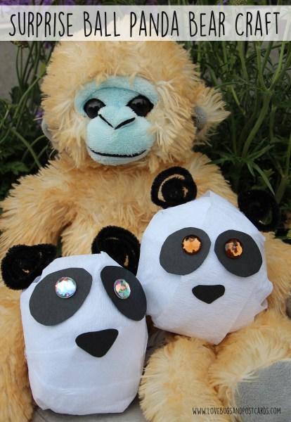 Surprise Ball Panda Bear Craft