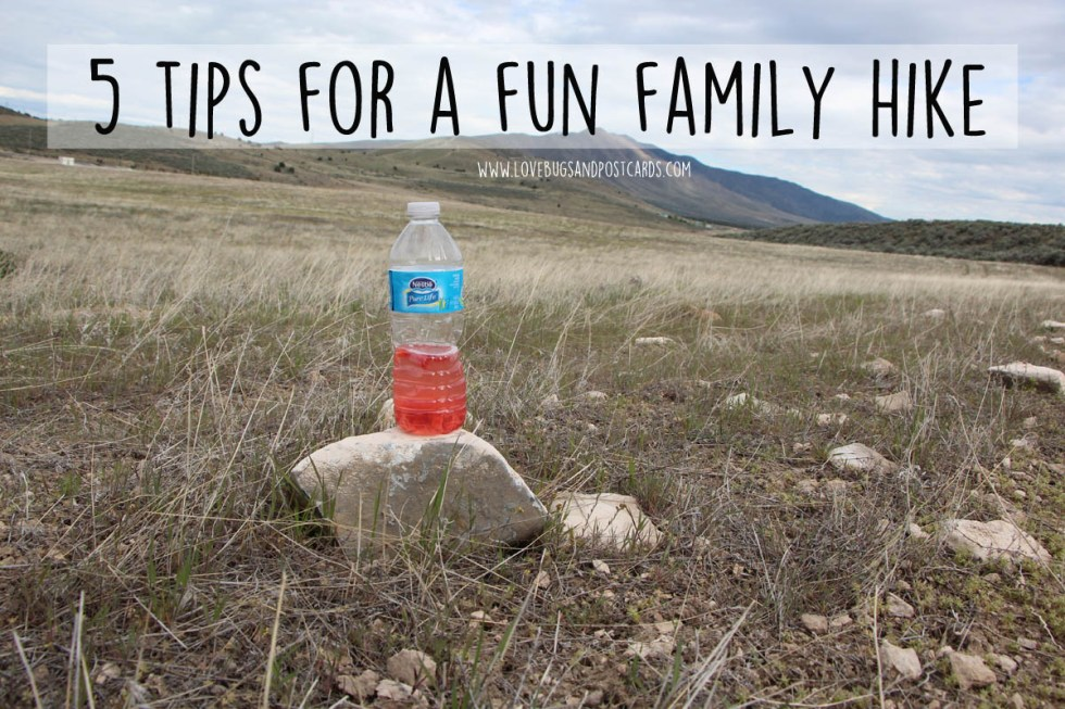 5 tips for a fun family hike