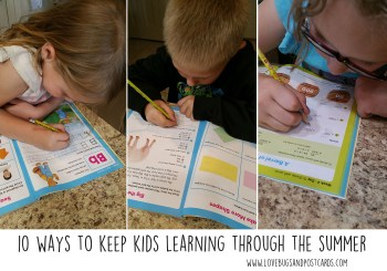 10 ways to keep kids learning through the summer