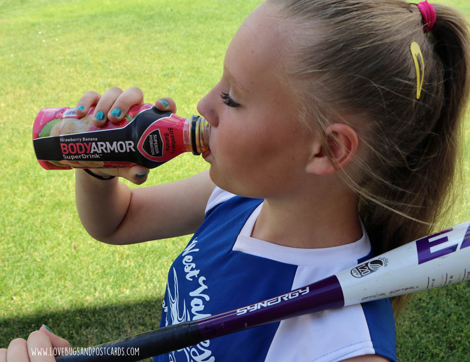 Better hydration with BodyArmor