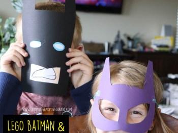 The LEGO Batman Movie + Batman LEGO Mask Craft