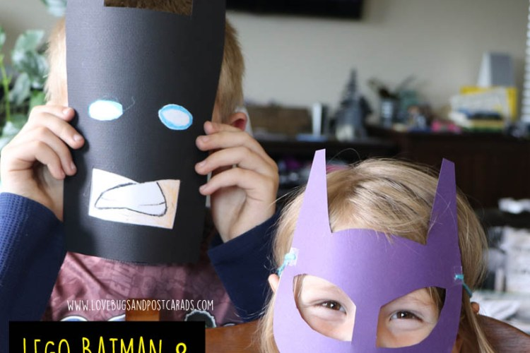 The LEGO Batman Movie + LEGO Batman Mask Craft