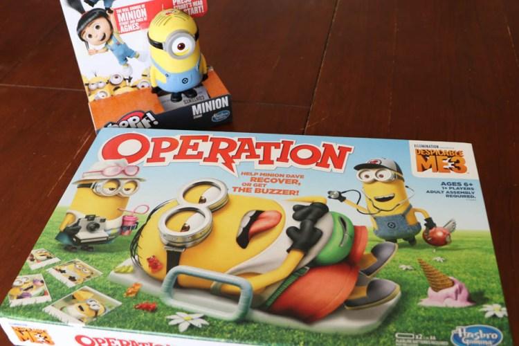 DESPICABLE ME 3 Hasbro Games Giveaway   #DespicableMe3
