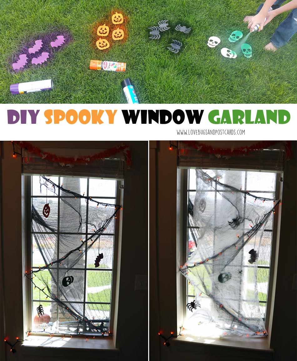 Build your own spooky Halloween Garland