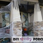DIY Spooky Front Porch Halloween Decorations