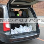 Walmart Grocery pick up saves my sanity