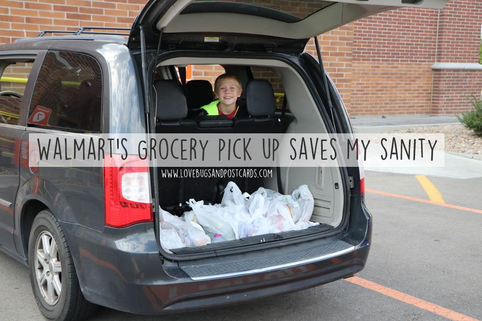 Walmart's Grocery pick up saves my sanity