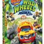 Blaze and the Monster Machines: Wild Wheels Escape to Animal Island on DVD