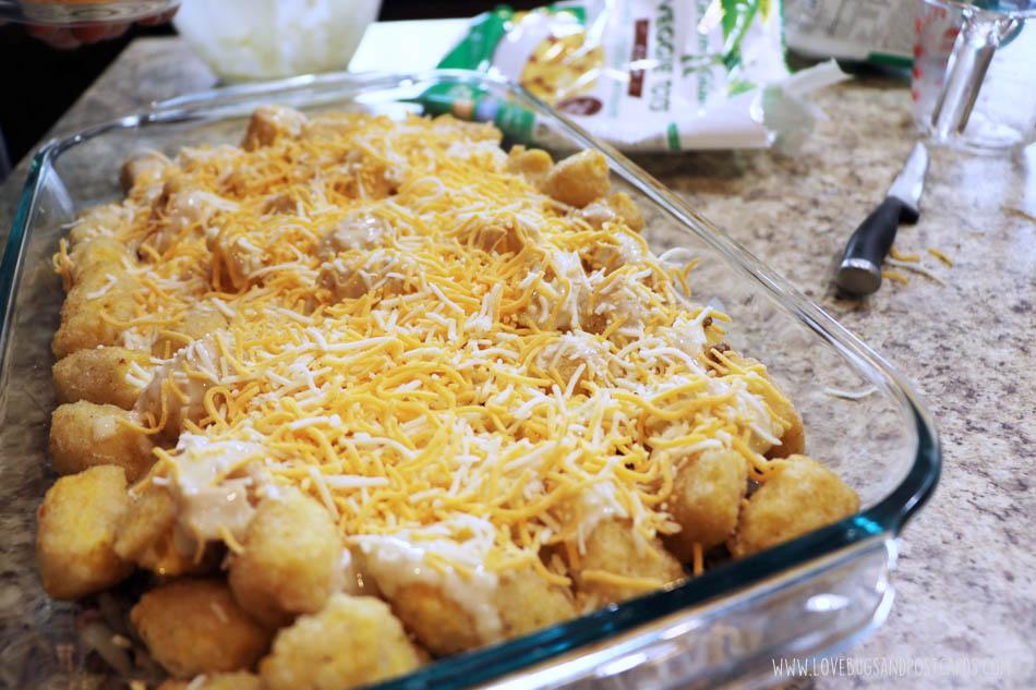 Corn Veggie Tots Casserole Recipe